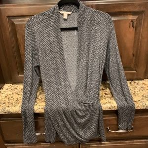Banana Republic Fitted wrap blouse -size S